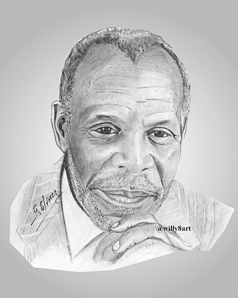 Danny Glover by Willy8art